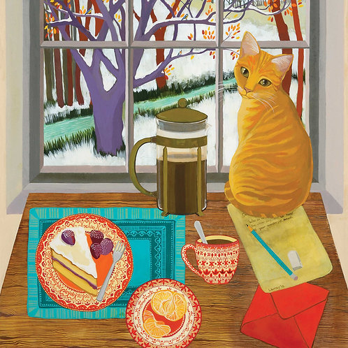 Dry Red Press Greeting Cards | Melissa Launay