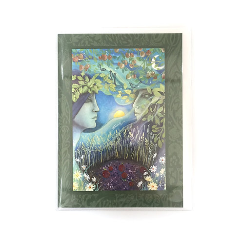 Amanda Clark Lammas Greeting Card