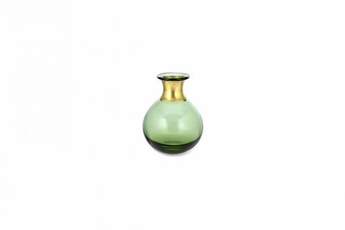 Nkuku Miza Mini Green Vase Small