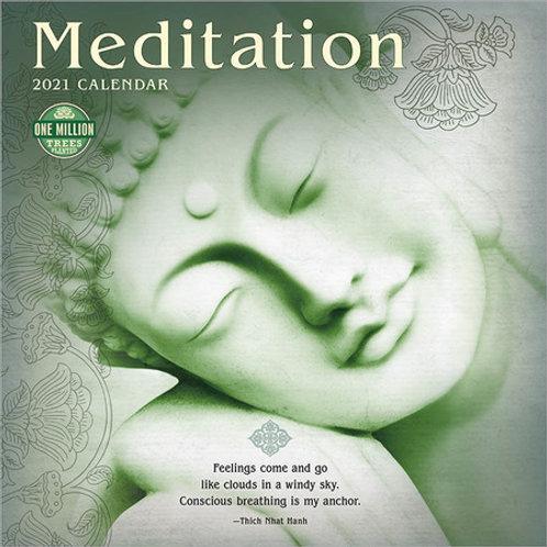 Meditation 2021 Calendar