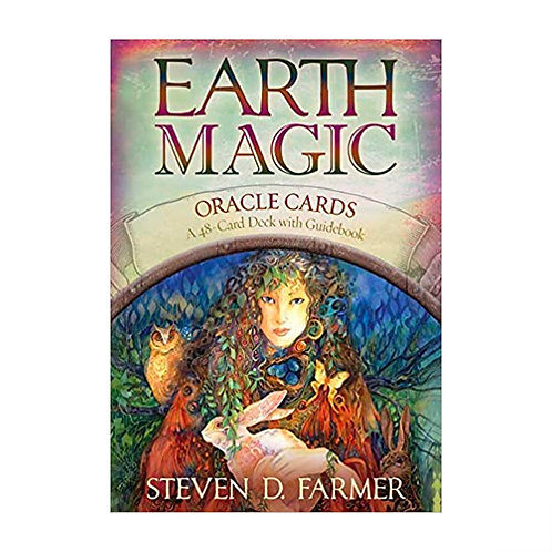 Earth Magic Oracle Cards | Steven D Farmer