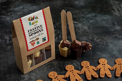 Cocoa Loco Festive Hot Chocolate Spoons
