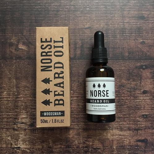 Norse Beard Oil | Woodsman