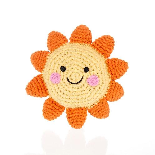 Pebble Sun Rattle