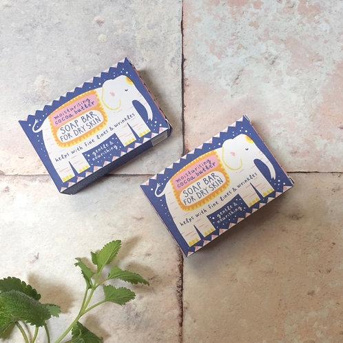 Printed Peanut Soap Bar For Dry Skin