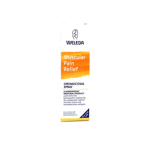 Weleda Muscular Pain Relief Oromucosal Spray