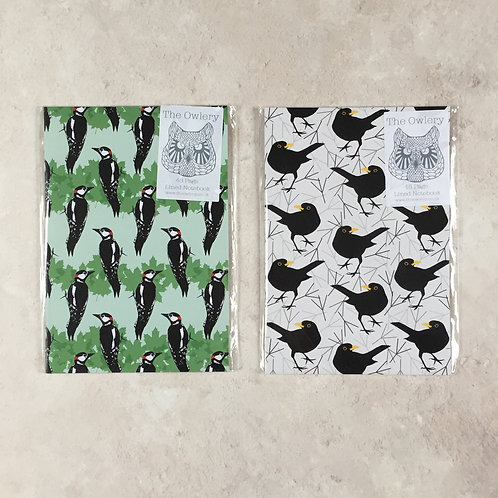 The Owlery Lined Notebook