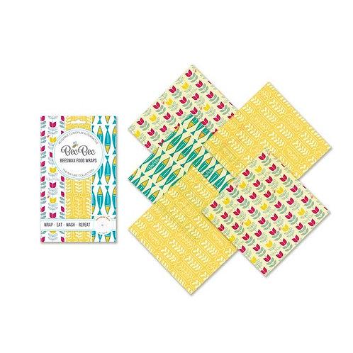 BeeBee Beeswax Food Wrap Teeny Pack