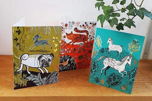 Lush Designs Greeting Cards