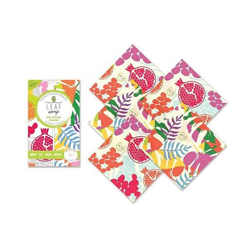 BeeBee Vegan Leaf Wrap Teeny Pack