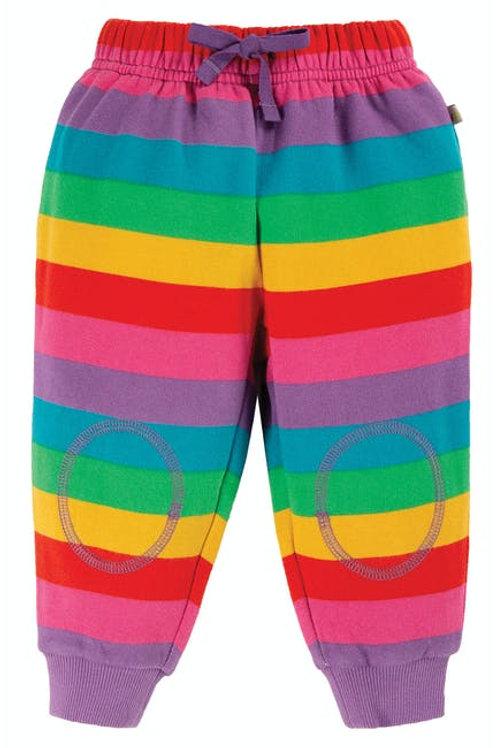 Frugi Foxglove Rainbow Stripe Crawlers