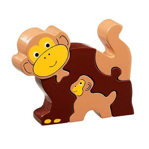 Lanka Kade Natural Wood Baby & Mummy Puzzles