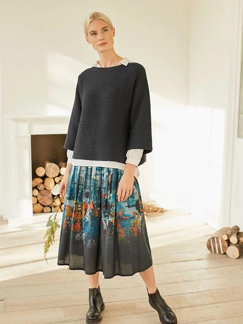 Thought Sissinghurst Tiered Midi Skirt
