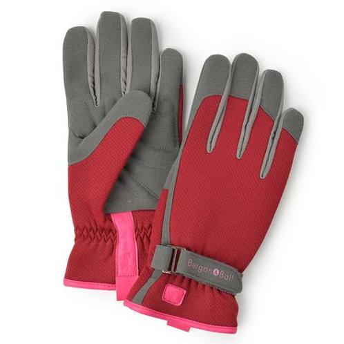 B&B Women's Gardening Gloves | Berry