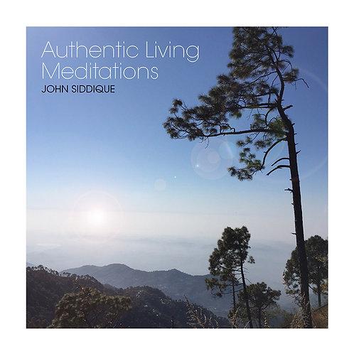 Authentic Living Meditations CD | John Siddique
