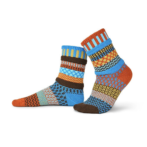 Solmate Socks Amber Sky