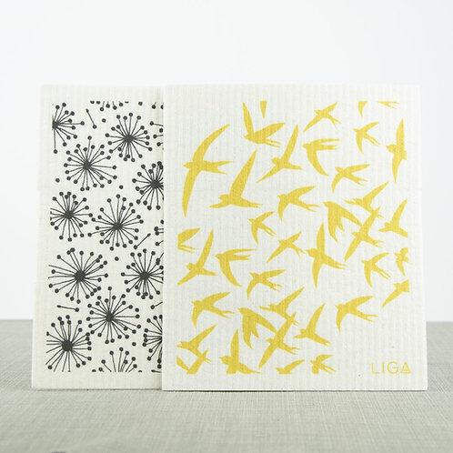 LIGA Dishcloths (2-Pack)