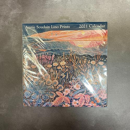 Annie Soudain Lino Prints Calendar 2021