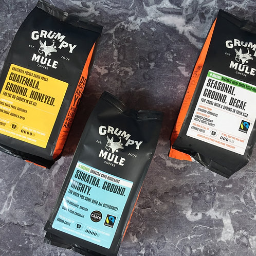Grumpy Mule Ground Coffee