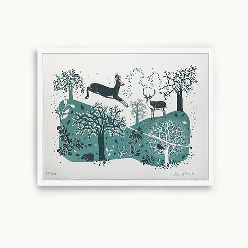 Folded Forest Limited Edition Prints