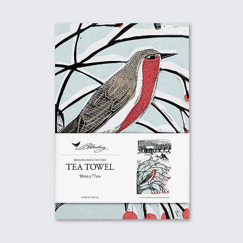 Angela Harding Tea Towel | Robin