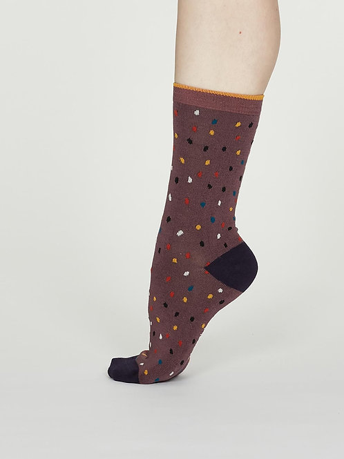 Thought Emme Bamboo Spot Socks