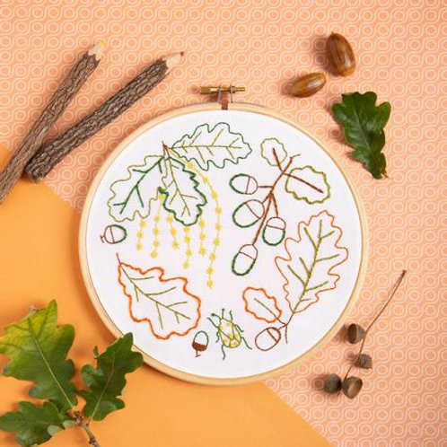 Embroidery Kit | Ancient Oak
