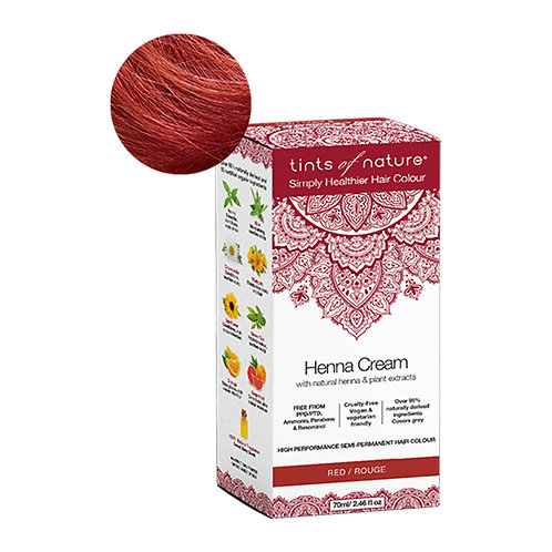 Tints Of Nature Henna Cream Red