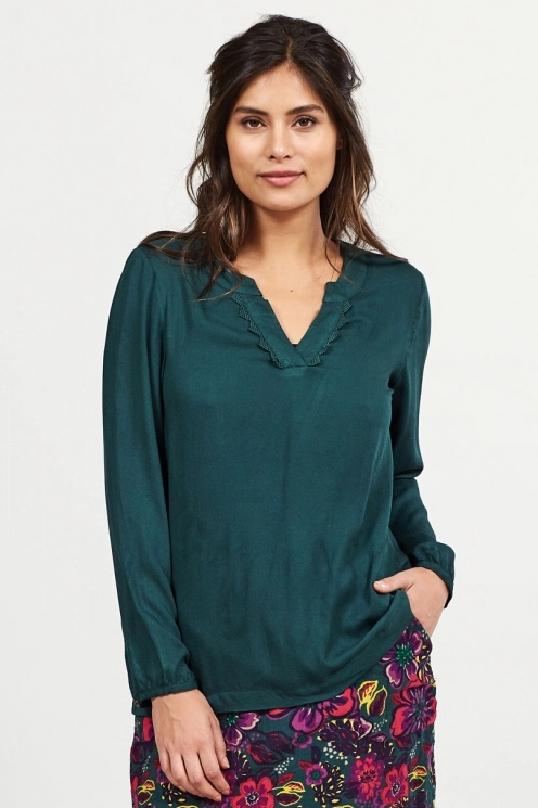 Nomads Crochet Detail Blouse