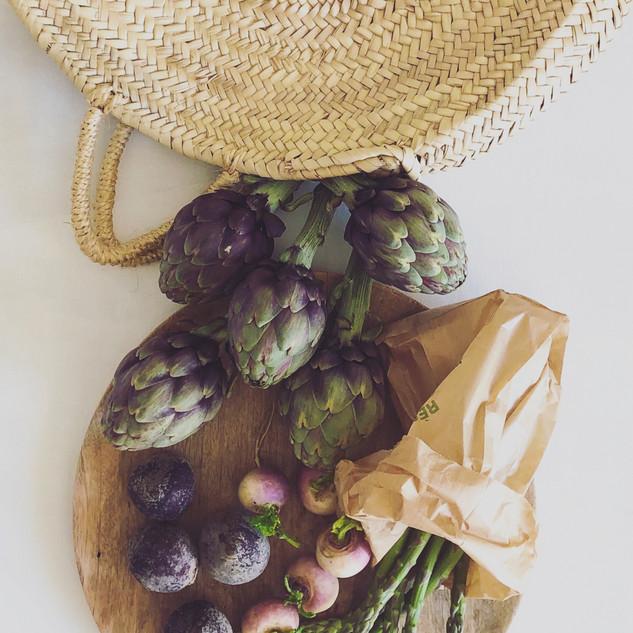 stylisme culinaire légumes de saison