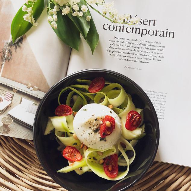 stylisme culinaire burrata