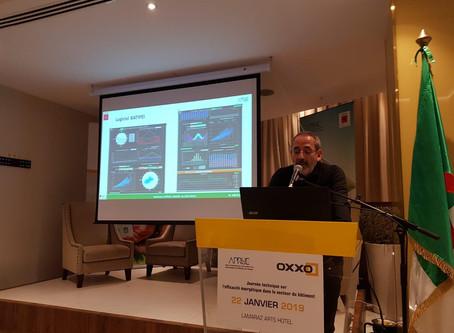 22/01 : Participation à la Journée Technique sur l'efficacité énergétique de l'APRUE à Alger