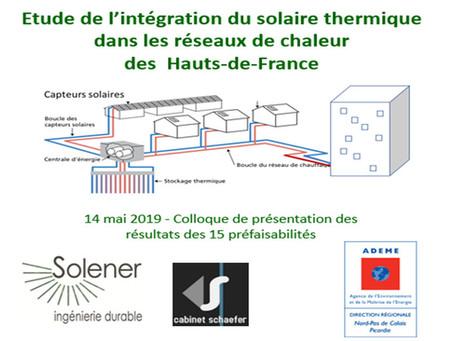 14/05 : Restitution de nos études d'intégration solaire dans les réseaux de chaleur en région