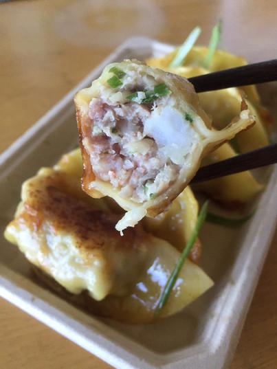 Pan-Fried Shrimp & Pork
