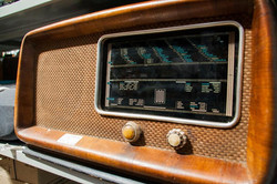 radio vintage antica mercatino dell'usat