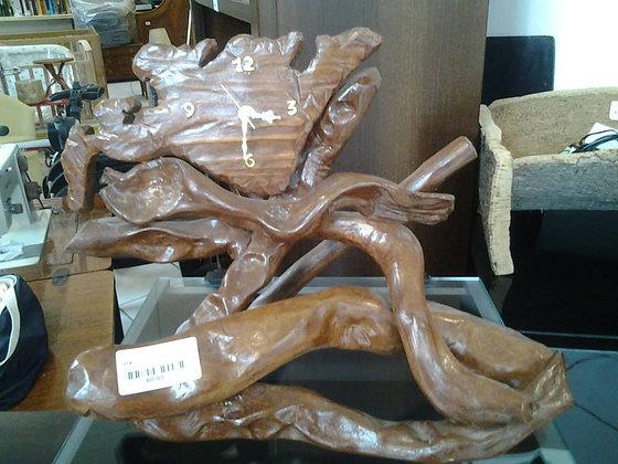 orologio artigianale in legno di bambù