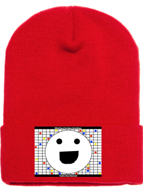 Galaxy Smile Alliance Positive Vibes Welcomed Beanie