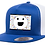 Thumbnail: Galaxy Smile Alliance Positive Vibes Welcomed Snap Back Hat