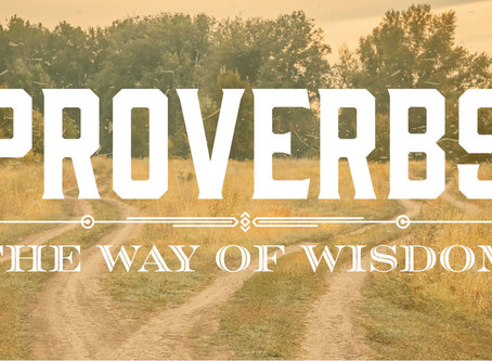 30-Day Proverbs - Day 1-13