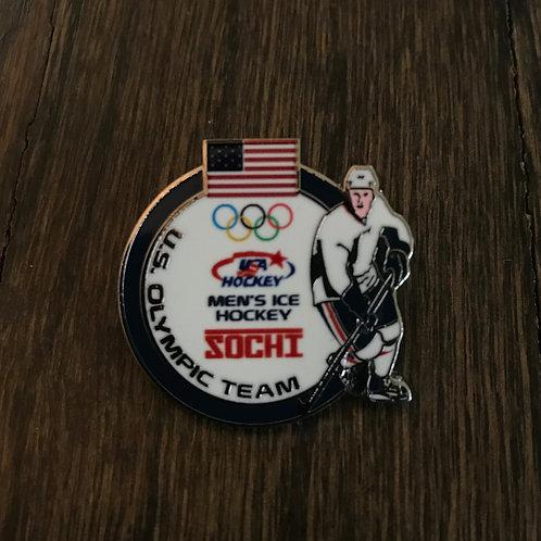 Team USA Hockey 2014 Sochi Winter Olympics pin