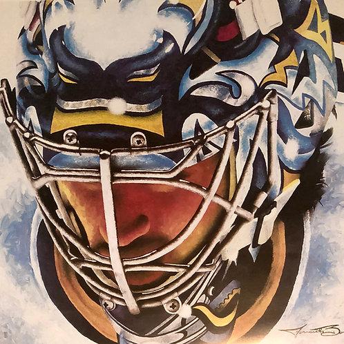 Ryan Miller Buffalo Sabres mask print