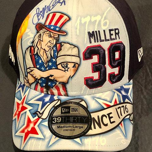 Signed Ryan Miller 2010 Olympic MVP hat