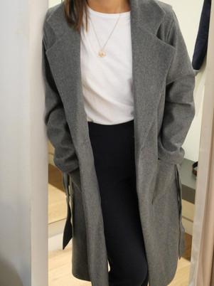manteau femme gris nicolas olano boutiqu