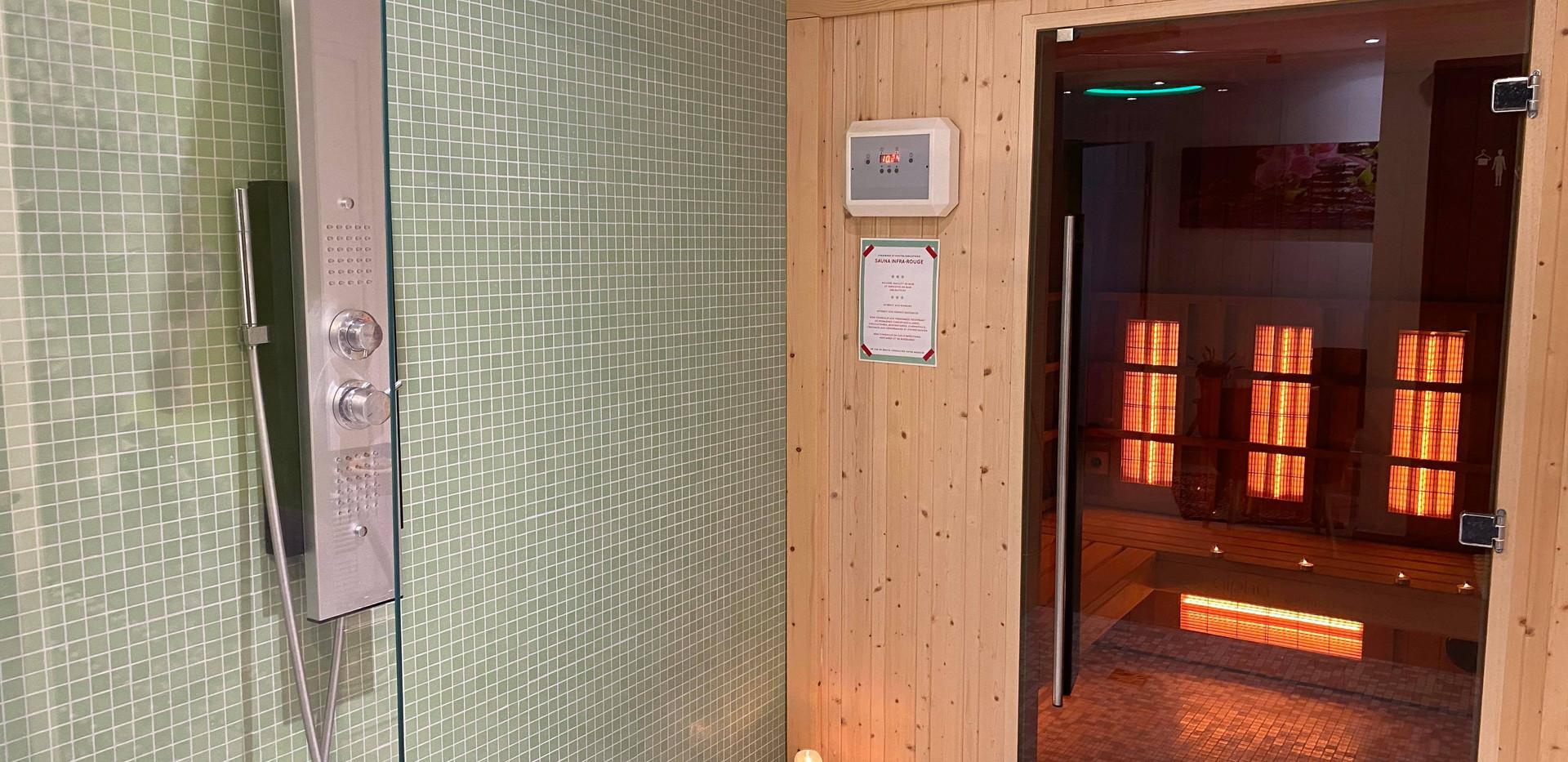 Sauna, La pause bien-être, centre Esprit Luzien