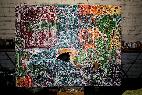 Lundius Mexikanischer Stadtplan mit U-Ba
