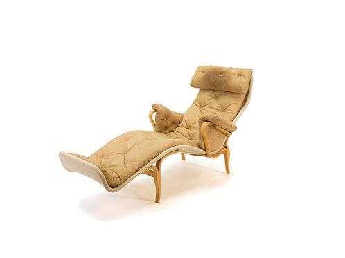 Bruno Mathsson Pernilla 3 Chaise Lounge Chair Dux 9