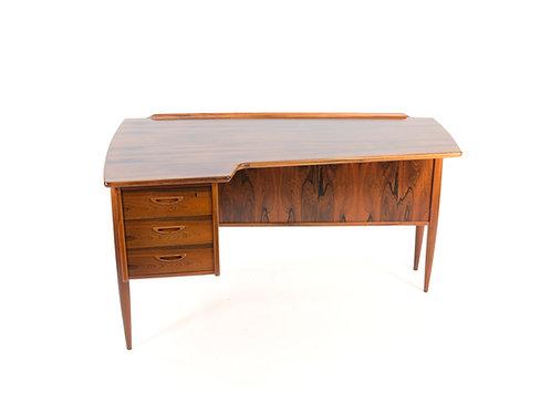 Rosewood Boomerang Desk Goran Strand Lelangs Mobelfabrik