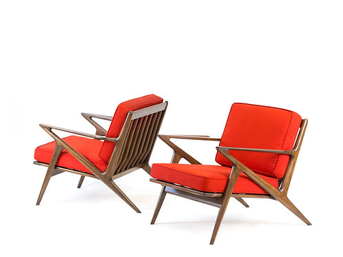 Poul Jensen for Selig Z Chairs