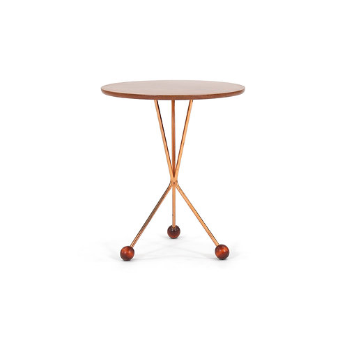 Albert Larsson Mid-Century Tripod Side Table