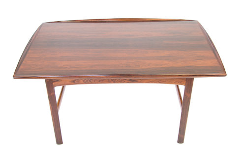 Folke Ohlsson for Tingstroms rosewood Frisco coffee table